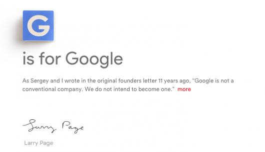 Google Alphabet 并购