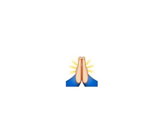 """""""祈祷""""还是""""击掌"""" Emoji表情引争议"""