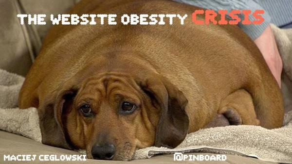 网站的肥胖症危机