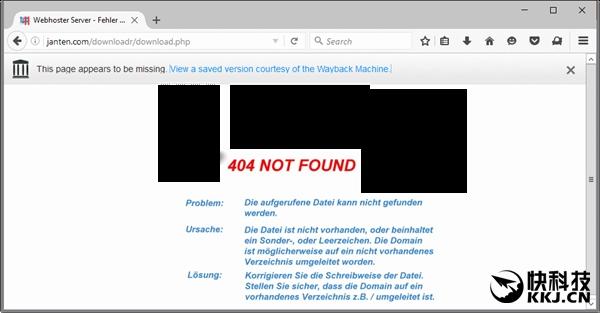 """FireFox取消""""404该网页无法显示"""":网页存档快照取代"""